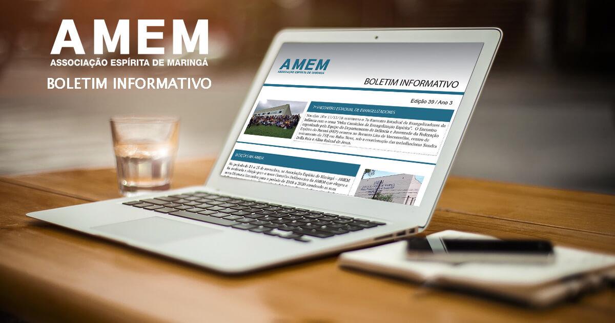 Boletim Informativo 39 – Novembro 2018